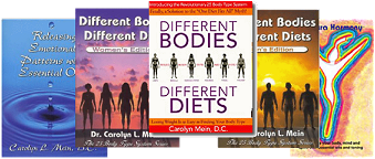 Body Type diet and nutrition books for my body type
