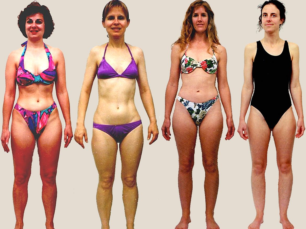Pictures of female Balanced body type