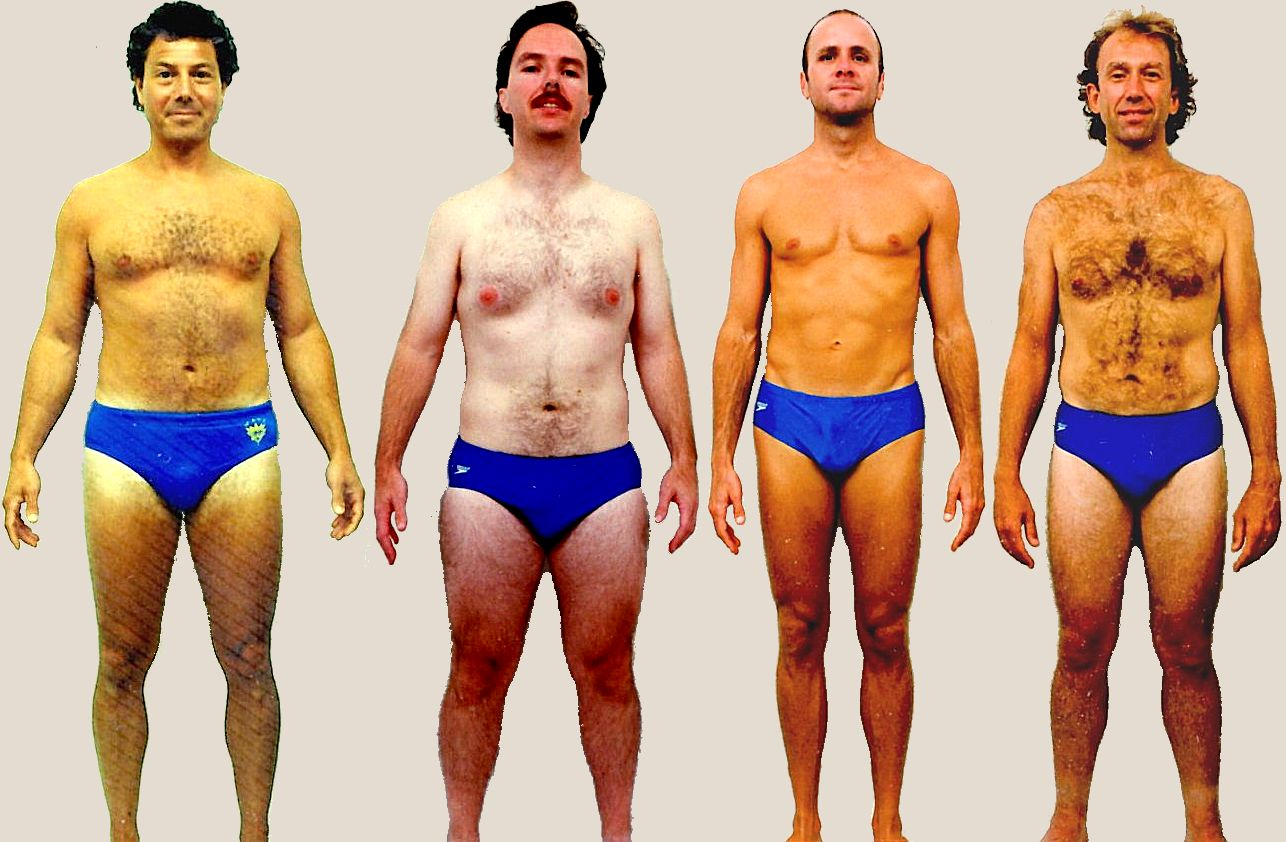 Pictures of male Balanced body type