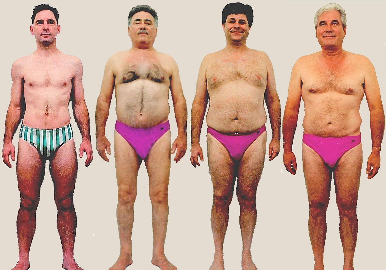 Pictures of male Skin body type
